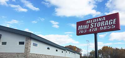 Mini storage rentals in Medina MN