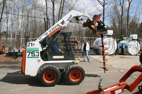Bobcat Auger Attachment S130 Rentals Plymouth Mn Where To