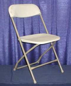 Where to rent CHAIR -  BEIGE FOLDING in Plymouth MN