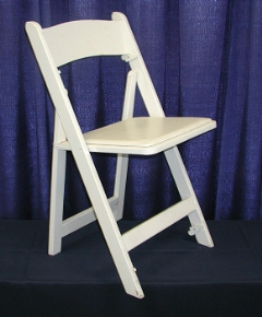 Where to rent CHAIR -  WOOD WHITE PADDED in Plymouth MN