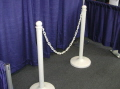 Where to rent STANCHION - WHITE POST PLASTIC in Plymouth MN