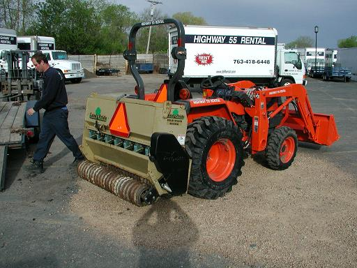 Where to find TRACTOR,  JD SEEDER ATTACHMENT in Plymouth