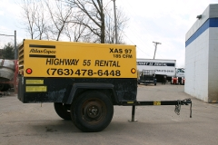 Where to rent AIR COMPRESSOR2  185 CFM DIESEL in Plymouth MN
