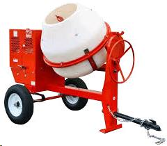 Where to find CONCRETE MIXER,GAS 9 CU.FT in Plymouth