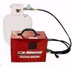 Where to find HEATER,  PROPANE 75,000 BTU in Plymouth