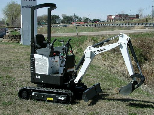Where to find BOBCAT a   418  EXCAVATOR 6  DIG X 12 in Plymouth