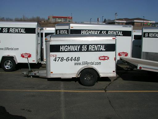 Rent Enclosed Car Trailer Mn