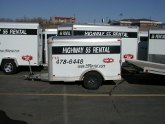 Rental store for TRAILER,3  5X8  ENCLOSED in Plymouth MN