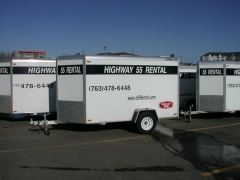 Where to rent TRAILER,4  5X10 ENCLOSED in Plymouth MN