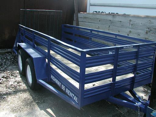 Where to find TRAILER,2  5X12 OPEN 28  SIDES in Plymouth