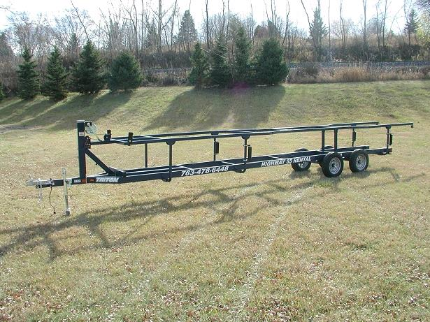 Where to find TRAILER,c  PONTOON 46 W X 22 L in Plymouth