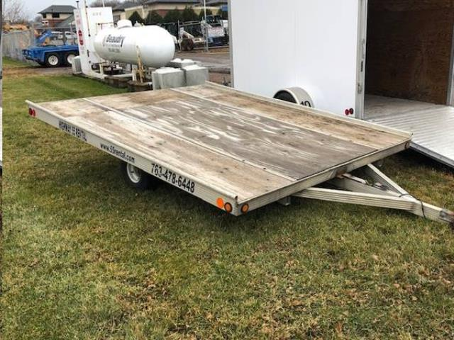 Where to find TRAILER,a  SNOWMOBILE 8 X10  DOUBLE in Plymouth