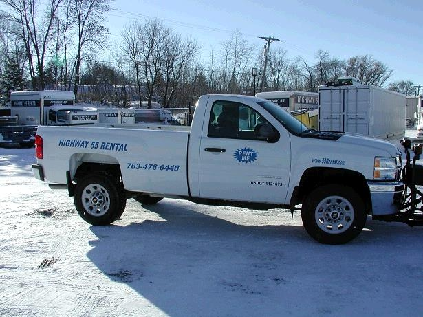 Where to find HWY 55 RENTAL SILVERADO 3 4 TON PICKUP in Plymouth