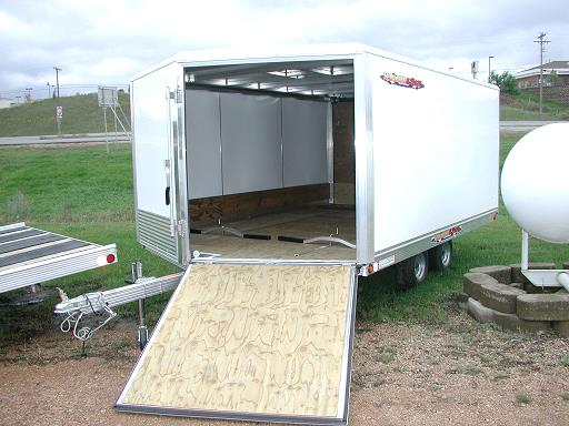 Where to find TRAILER,b  SNOWMOBILE ENCLOSED 2-PLACE in Plymouth