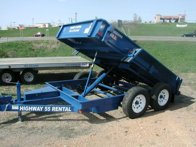 Where to find TRAILER,5  DUMP BED--6X10  LOW 12  SIDES in Plymouth