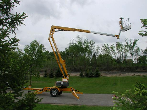 Where to find MAN LIFT 50  TRAILER MOUNTED BOOM in Plymouth