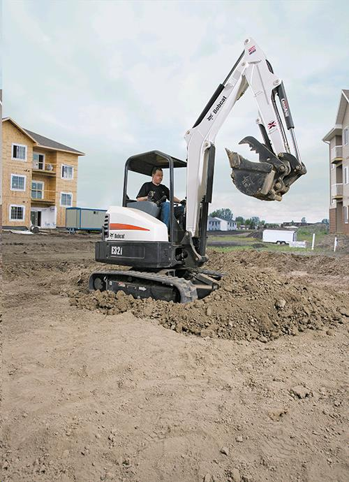 Where to find BOBCAT b  E32i  EXCAVATOR 10  DIG X 24 in Plymouth