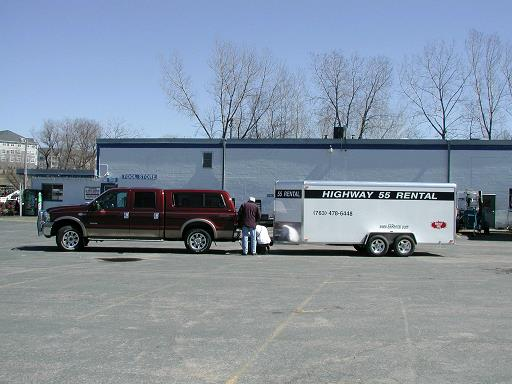 Enclosed Car Trailer For Rent In Minnesota