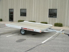 Where to rent TRAILER,a  SNOWMOBILE 8 X12  DOUBLE in Plymouth MN